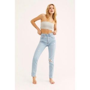 Levi's Jeans - 🦋NEW Levi's 501 skinny free people jeans low pro